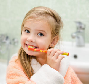 Pediatric Dentist in McMinnville, OR - Brushing Teeth